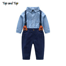 Toddler Baby Boys Gentleman Clothes Set
