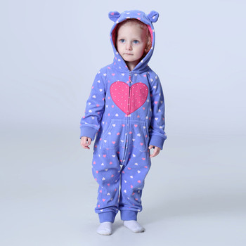 0ebf9f509 Orangemom tienda oficial de la primavera de 2019 mamelucos del bebé de lana  suave de bebé niña ropa una piezas niñas abrigo 1-2Y ropa de bebé conjunto