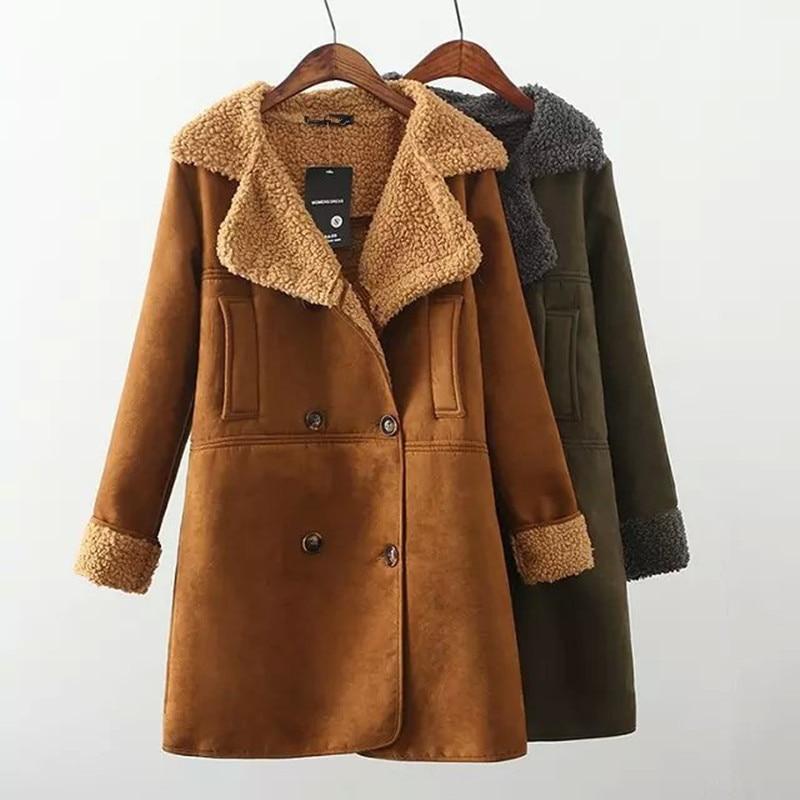 Suede Winter Coats