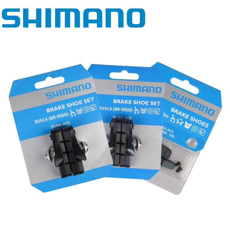 Shimano DURA-ACE ULTEGRA 105 R55C4 Bicycle Brake Shoes Pads For Carbon Rims Pair