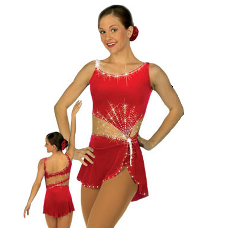 RUBU Customization Leotard Rhythmic Gymnastics Age 6 8 Ice Skating Acrobatics Beautiful Rhythmic Gymnastics Leotards