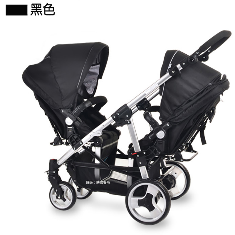 Easywalker twins baby font b stroller b font before and after font b double b font