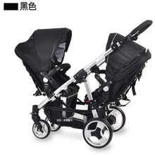 Easywalker twins baby stroller before and after double directrions stroller light folding twins baby pram five