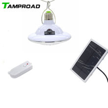 TAMPROAD Portable Solar Rechargeable LED Lantern Dimmable Light with Controller camping light for Hiking Fishing Emergency Light(China)