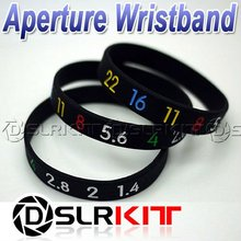 Photographers Wristband Lens Aperture Ring / Stop Zoom Creep Silicon Latex