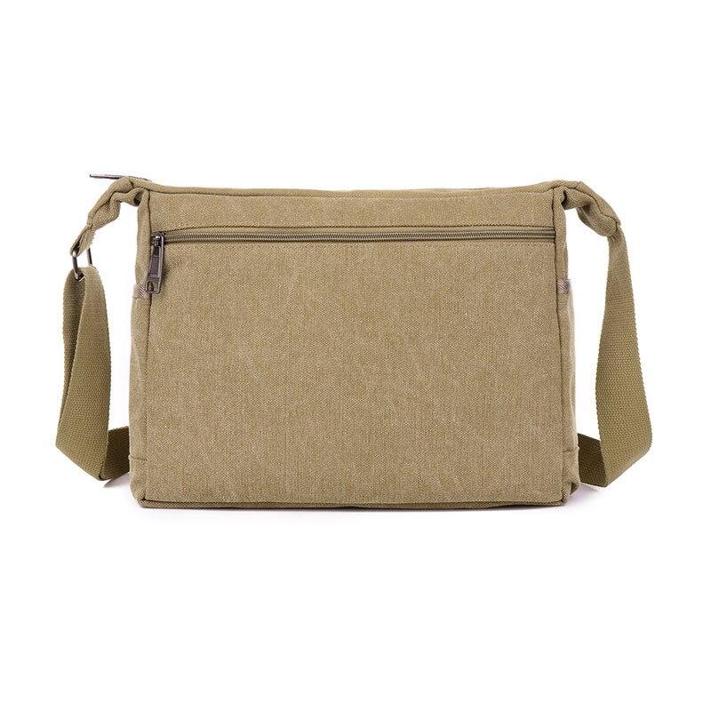 2016 jofeanay mannen Messenger Bags Canvas Schouder Hand Tas Mode Mannen Business Crossbody Tas Afdrukken Korte Reizen Handtas - 2