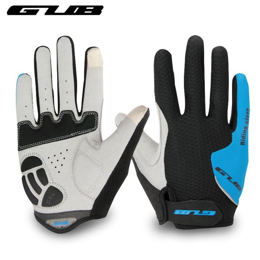 mtb bicycle cycling gloves gel pad touch screen mountain bike men full finger sport gloves women