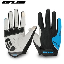mtb bicycle cycling gloves gel pad  touch screen mountain bike men full finger sport gloves women spring and Autumn