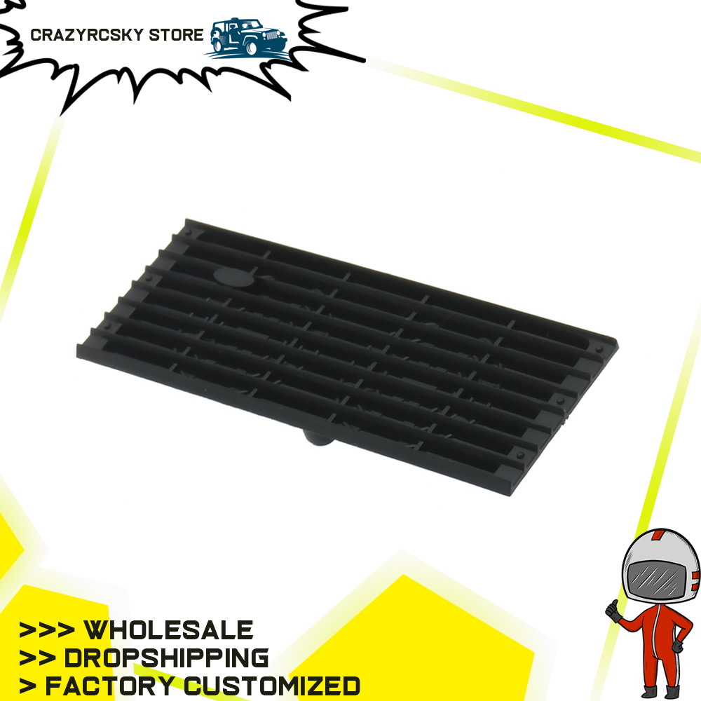 RCAWD 1PC Front Engine Intake Grille For Trx4 Rc Car 1/10 Traxxas Trx4 Land Rover Version Crawler T8637