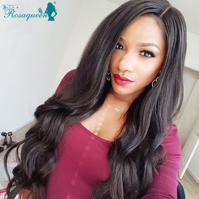 Glueless Full Lace Human Hair Wigs Brazilian Body Wave Wavy Virgin Hair Front Lace Wig Human Hair Lace Front Wigs Black Women