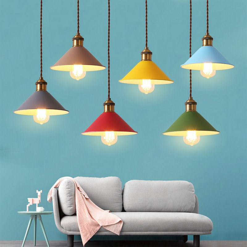 The wife of the nordic minimalist modern creative cafe bar restaurant bedroom Macarons pendant lamp LO8812 the photographer s wife
