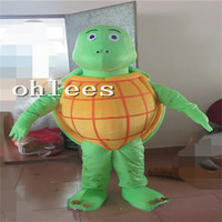 Ohlees fat turtle Mascot Costume Halloween Christmas party Props Costumes For Adult cartoon animal customize