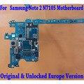 100% original versión europa n7105 desbloqueado placa base placa base para samsung galaxy note 2 n7105 con chips envío libre