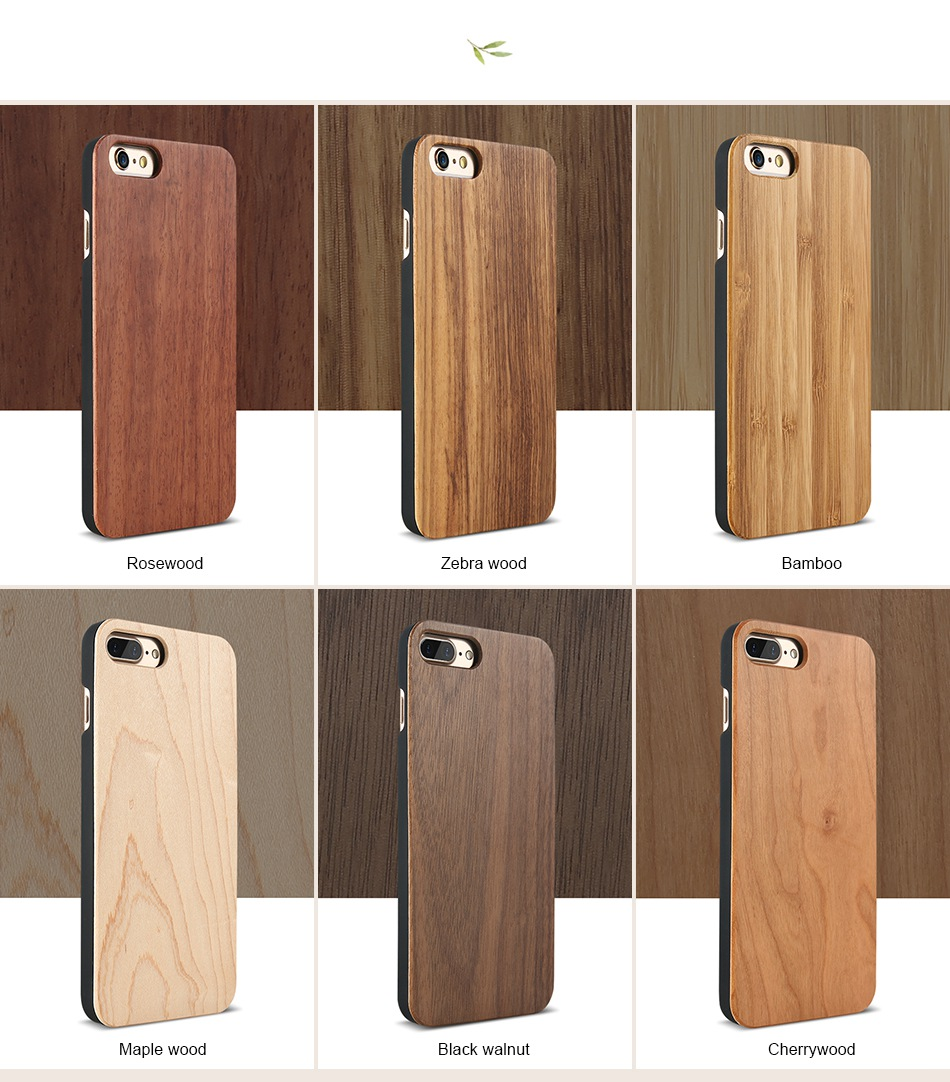 For iPhone 7 iPhone 7 Plus Case Natural Bamboo Wooden Phone Cases For iPhone 6 6S Plus 6 Plus (9)