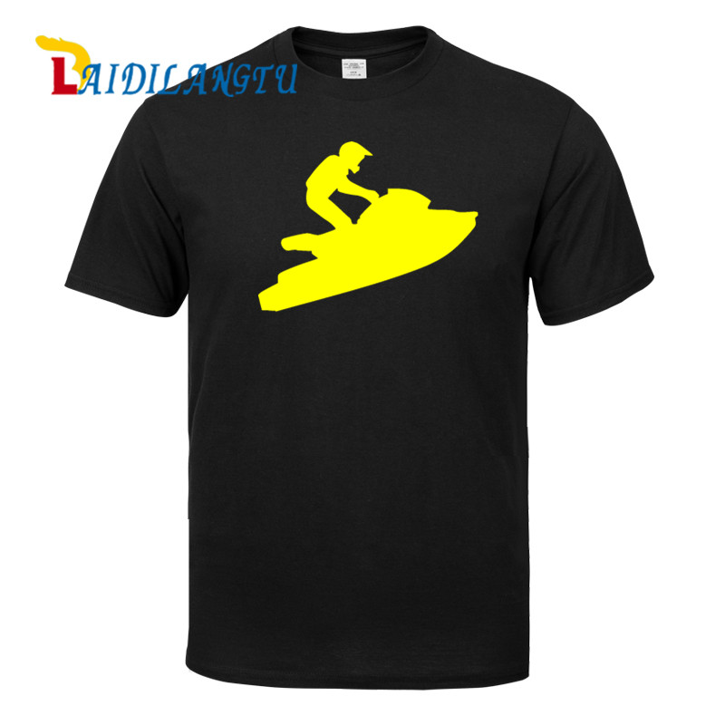 Plus Size t shirt oversized t shirt Jet Ski PWC BRAAAP! hip hop t shirt Men t-shirt Short Sleeve T Shirt Casual Tops Cool Shirts