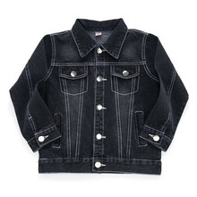 Pydownlake Children Boy Denim Jacket 2019 Spring Teenage Boys Jeans Outerwear Autumn Long Sleeve Tops Coats for Kids Boys Studen недорого
