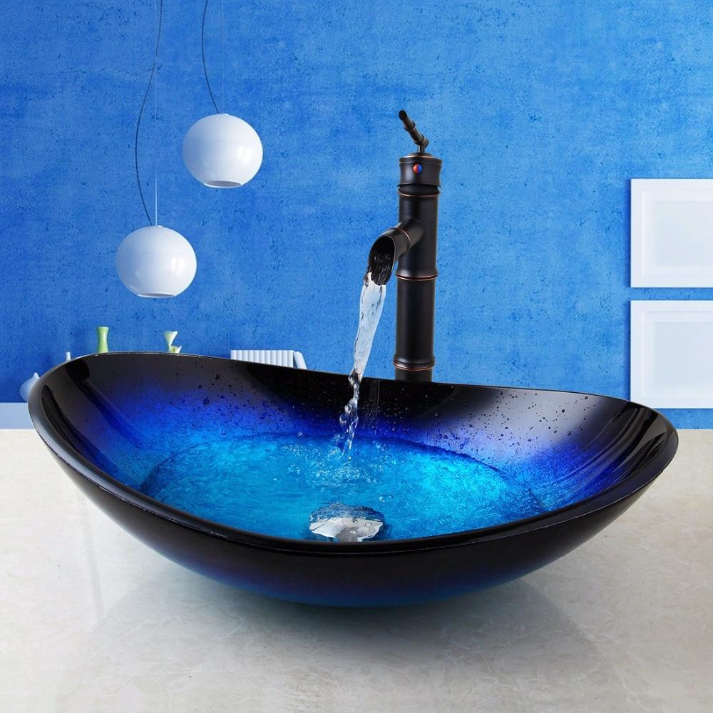 Antique Brass Bathroom Sink Faucets