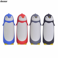 Kreativen Pinguin Form Thermoskanne Tasse Edelstahl-thermoskanne Becher Trinkbehälter Reise Thermo Kaffeetasse Thermoe Vakuum Fask Glas Tassen