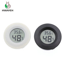 1pcs Mini LCD Digital Thermometer Hygrometer Fridge Freezer Tester Temperature Humidity Meter Detector