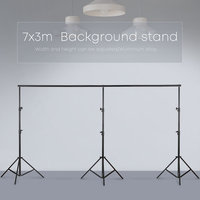 3mx7m/10ftx23ft Pro Photography Photo Backdrops Background Support System Stands For Photo Video Studio + carry bag