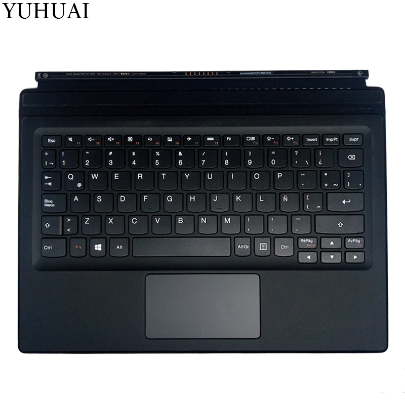 New LA keyboard for LENOVO IdeaPad Miix 700-12ISK Miix700-12ISK Latin KEYBOARD with palmrest new original for lenovo miix 720 folio keyboard miix 5 pro docking with backlight us english palmrest cover