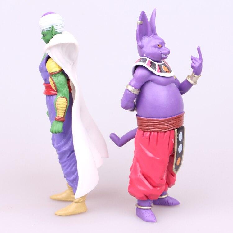 Nice New 8 Pcs Dragonball Z Dragon Ball Dbz Anime Super Saiyan Goku Son Gokou Trunks Chiao-tzu Piccolo Freeza Action Figure Model Toy Toys & Hobbies