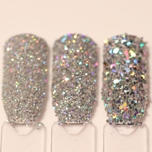3 Boxes  Nail Glitter Set Holo Gold Silver Laser Powder Paillette Chrome Kit  Nail Art Sequins Decoration