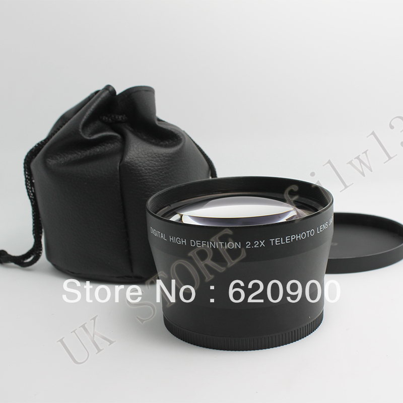 ФОТО 100% GUARANTEE  72mm 2.2x Telephoto Lens for Canon 30D 40D 50D 60D 550D 7D CAMERA DSLR new in package