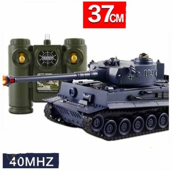 цена на Kingtoy Rc Battle Tank  Fun Remote Control  War Shooting Tank large scale Radio Control Army battle Model millitary rc tanks Toy