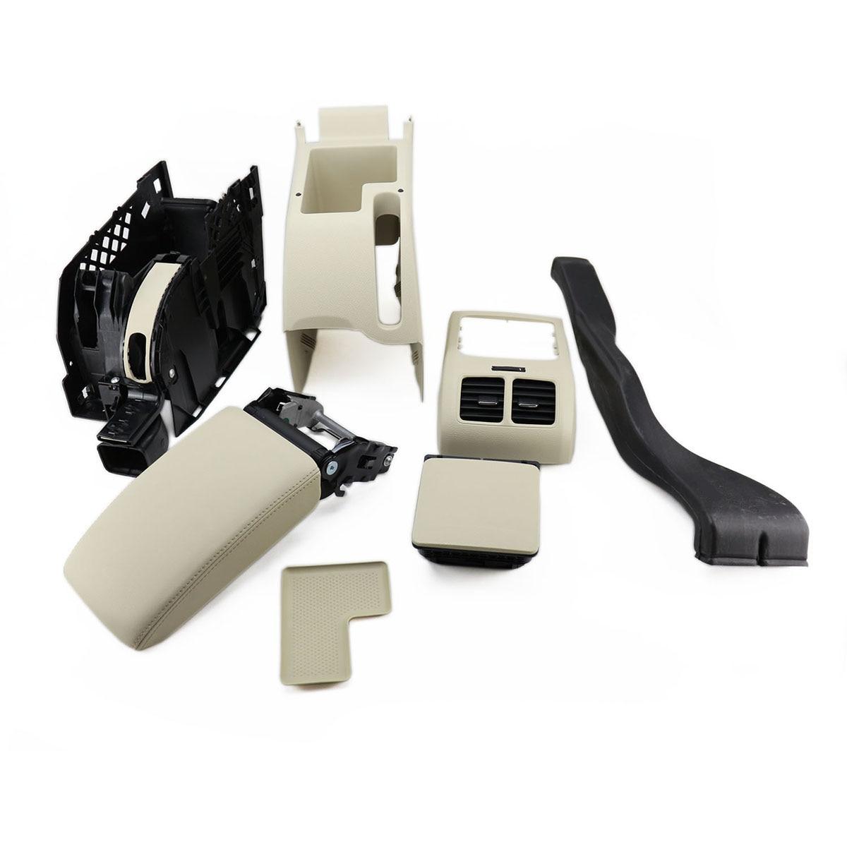 OEM Beige FAW 898 207 95 T Console centrale accoudoir support de verre Kit pour VW Jetta MK5 Golf MK6