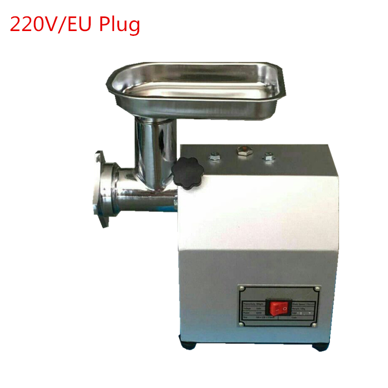 Brand New 220V Meat Slicer Stainless Steel Food Processor Meat Grinder/Cutter Desktop Type Meat Cutting Machine fast food leisure fast food equipment stainless steel gas fryer 3l spanish churro maker machine