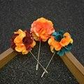 Lote por atacado Smoking de Lapela Pin Broches de Flor para Os Homens Da Moda Pin de Lapela Ternos Noivo Casamento Bouquet Broche Pinos Broche