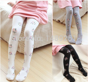 2017 Spring Fashion Plaid Thick Pantyhose Cotton Candy Colored Childrens Dance Stockings Knitted Girls Leggings