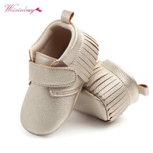 WEIXINBUY 6 Colors Brand Spring Baby Shoes PU Leather Newbor