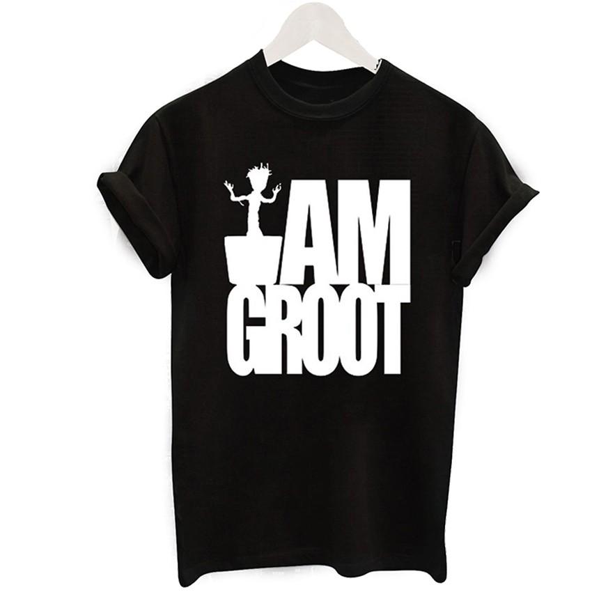 2016 Harajuku Czarny T-shirt Kobiety Panie Topy Jednorożec List Wydrukuj Casual Śmieszne Koszulki z krótkim rękawem Tee Shirt Femme Luźne 17