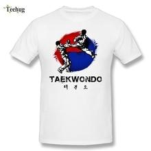 New Design Men Taekwondo Tees Nice Tee Short-sleeved  100% Cotton T shirt Plus size