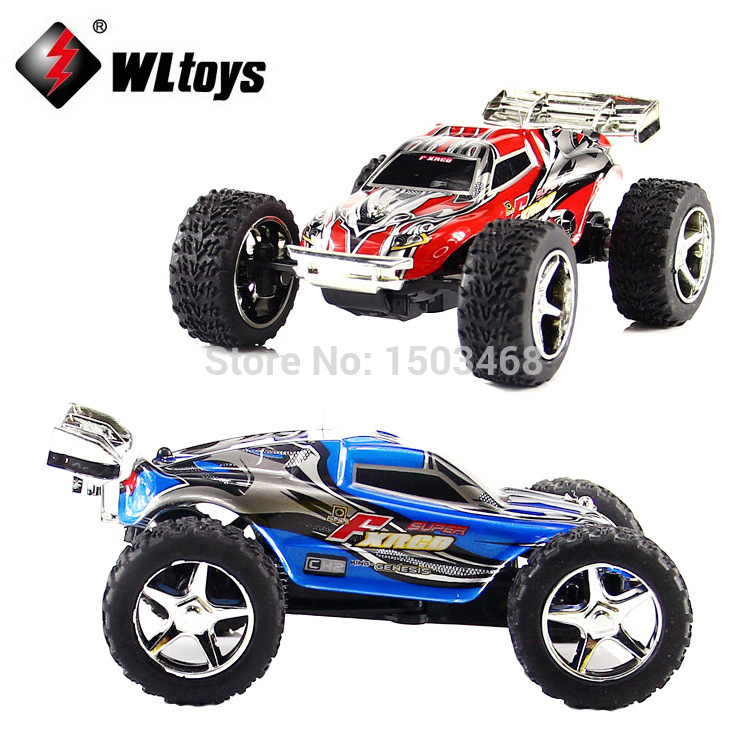 Free shipping 10cm 1:32 WLtoys 4CH 25km/h High speed RC Truck Toys for Kids Christmas Gifts Remote Control Radio Car
