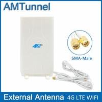4G LTE External Panel Antenna 700 2600MHz Antenna RP SMA Male Connector