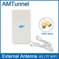 4G LTE External Panel Antenna 700 2600MHz Antenna RP SMA Male Connector