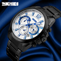 2016 SKMEI Brand Men's Mens Watches Watches Mens Full Steel Business Relogio Masculino De La Marca Erkek Kol Saati Quartz-Watch