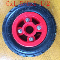 Good quality 6X1.5 6 Inch Scooter Tire & Inner Tube and rim Set Electric Scooter Wheel Chair Truck