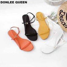 2019 Women Sandals New Summer Ladies Shoe Flat Gladiator Back Strap Beach Sandal Peep Toe Fashion Casual Walking Sandalias Mujer недорго, оригинальная цена