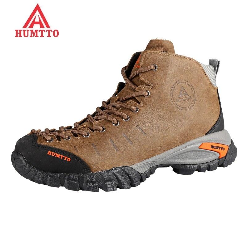 sale hiking shoes men winter sapatilhas mulher trekking boots climbing outdoors women shoe camping Genuine Leath