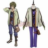 Cosplay legend KABANERI OF THE IRON FORTRESS Koutetsujou no Kabaneri Ikoma cosplay adult costume full set custom made