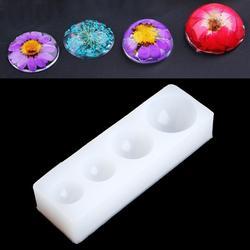 JAVRICK полушарие Половина Круглая Силиконовая Форма Плесень Для смолы подвеска для изготовления ожерелья Craft