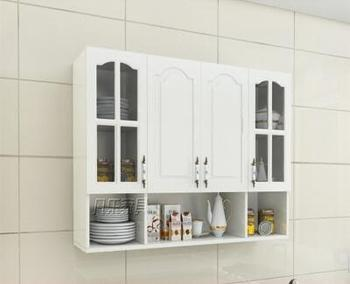 The European style kitchen condole hangs the cabinet four door combination add bottom multilayer board
