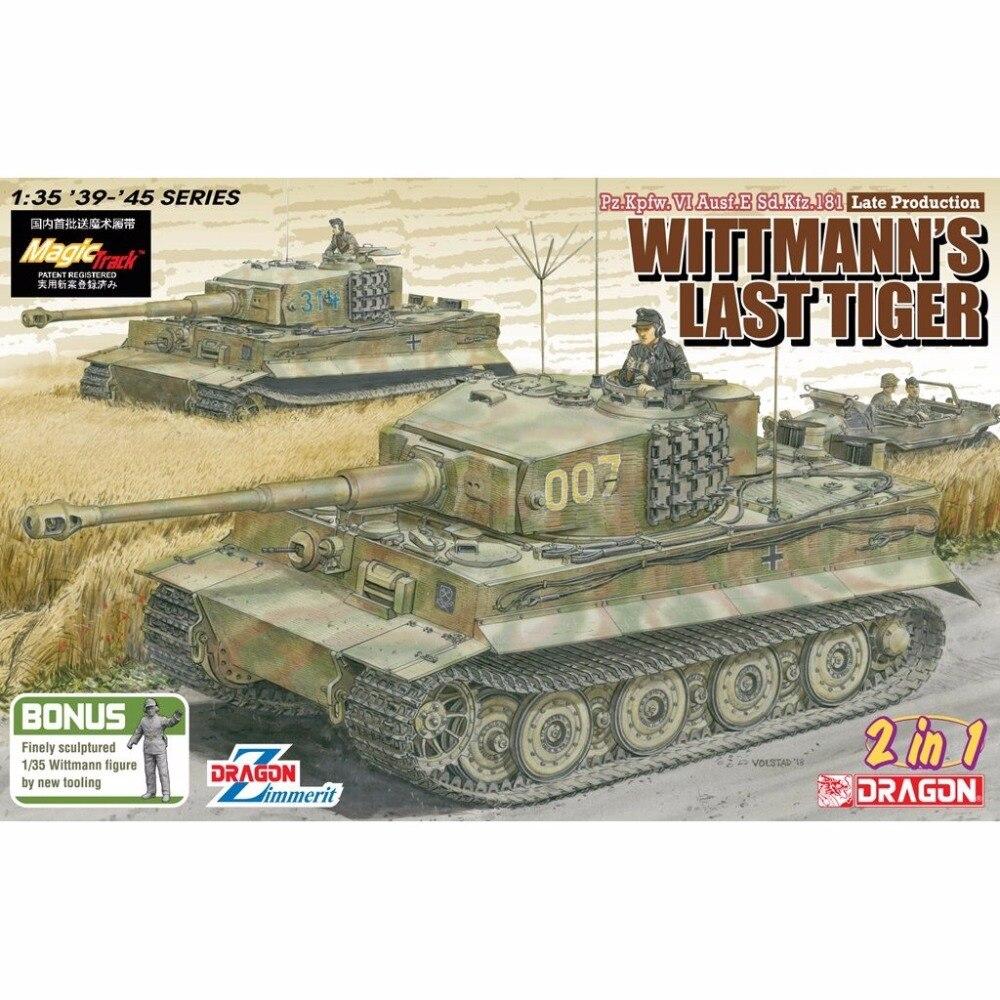 DRAGON 6800 1 35 Pz Kpfw VI Ausf E Sd Kfz 181 Wittmann s Last Tiger
