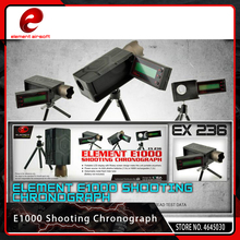 Element Airsoft Hunting E1000 Shooting Chronograph Foldable LCD Display with Rotary Paintball Screen Softair Accessories