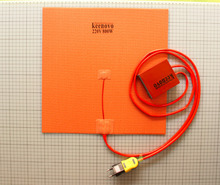 35x35cm 800W 220V Silicone Heater Pad Cobblebot Huge 3D Printer Heated bed w/Digital Controller+Plug
