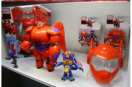 Image 3 - 6 Inch/16CM Big Hero 6 Baymax Robot Action Figure Cartoon Movie Baymax  Removable Armor 2015 New Holiday Gift Kids toys-in Action & Toy Figures from Toys & Hobbies